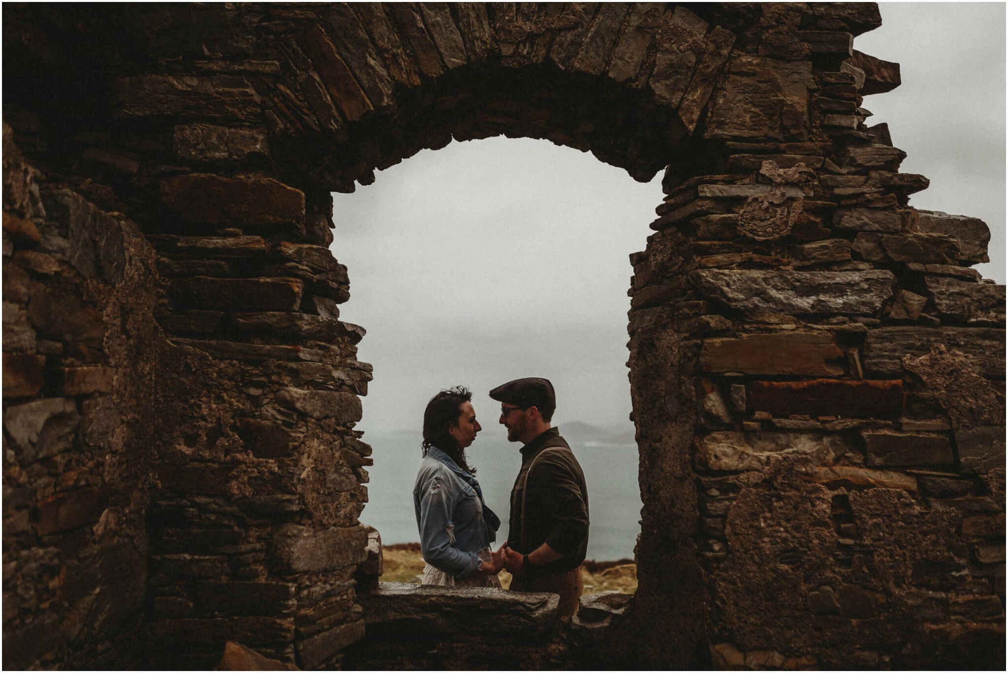Elopement horn head donegal irish wedding photography 00056 - Fun and Relaxed wedding and elopement photography in Ireland, perfect for adventurous and outdoorsy couples