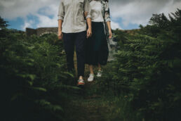 Lough Tay Wicklow Pre wedding in Ireland 10 uai - Fun and Relaxed wedding and elopement photography in Ireland, perfect for adventurous and outdoorsy couples