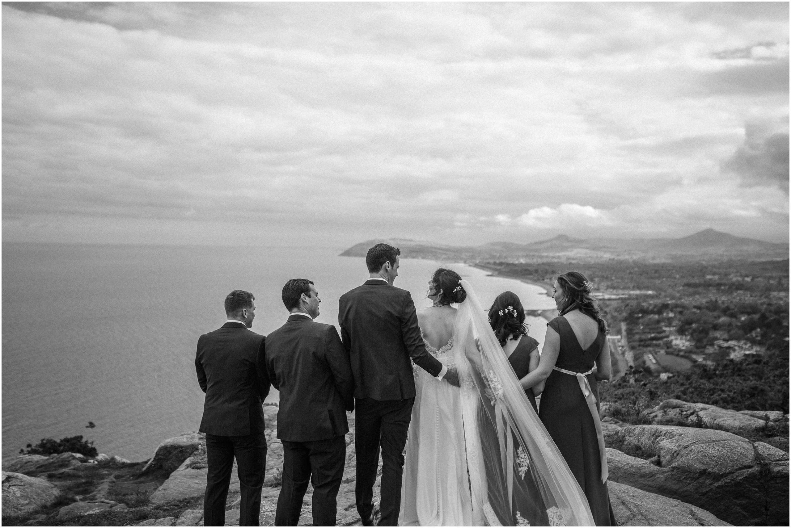 Johnny Corcoran Photography Killiney hill Royal Marine 00103 - Fun and Relaxed wedding and elopement photography in Ireland, perfect for adventurous and outdoorsy couples