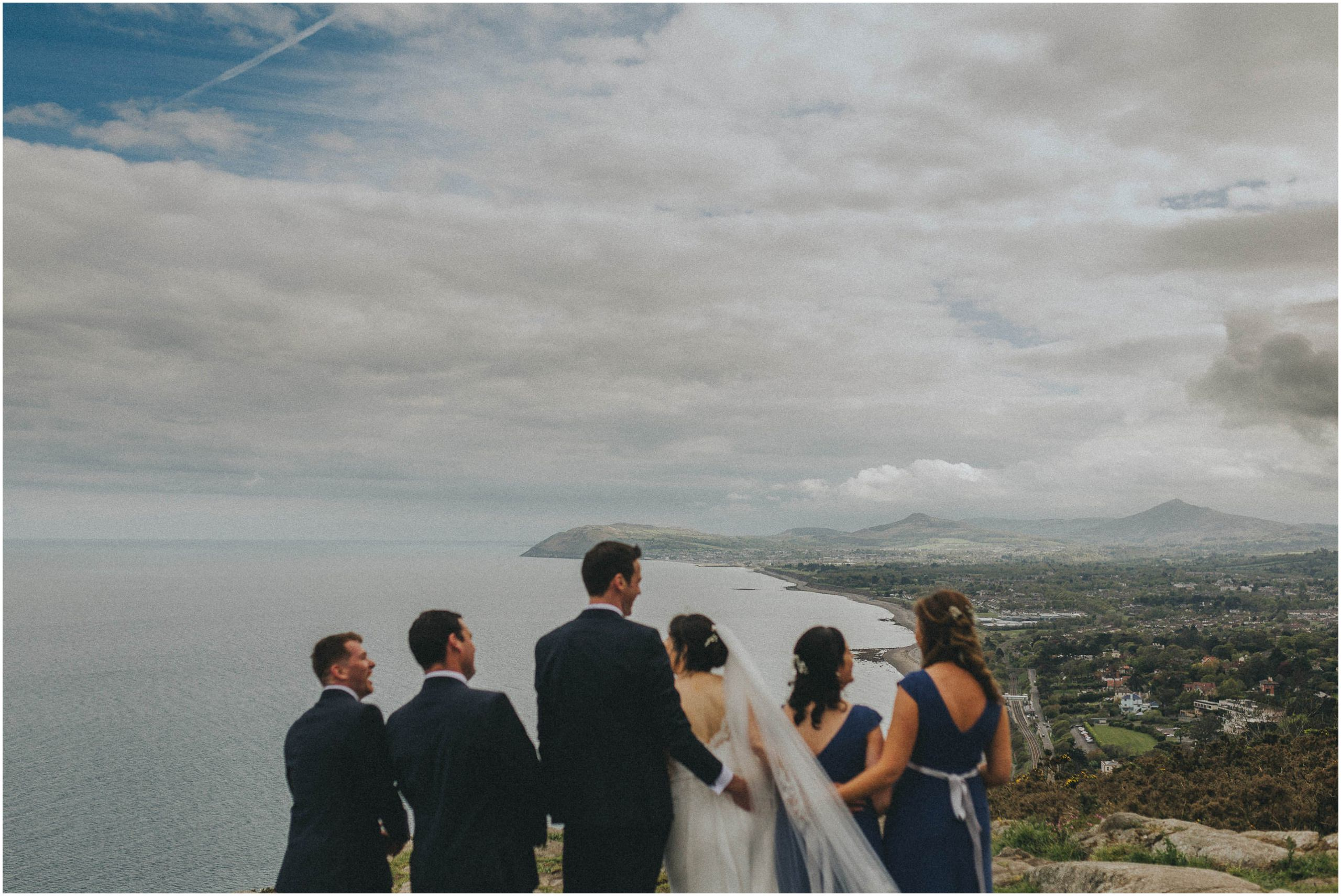 Johnny Corcoran Photography Killiney hill Royal Marine 00104 - Fun and Relaxed wedding and elopement photography in Ireland, perfect for adventurous and outdoorsy couples