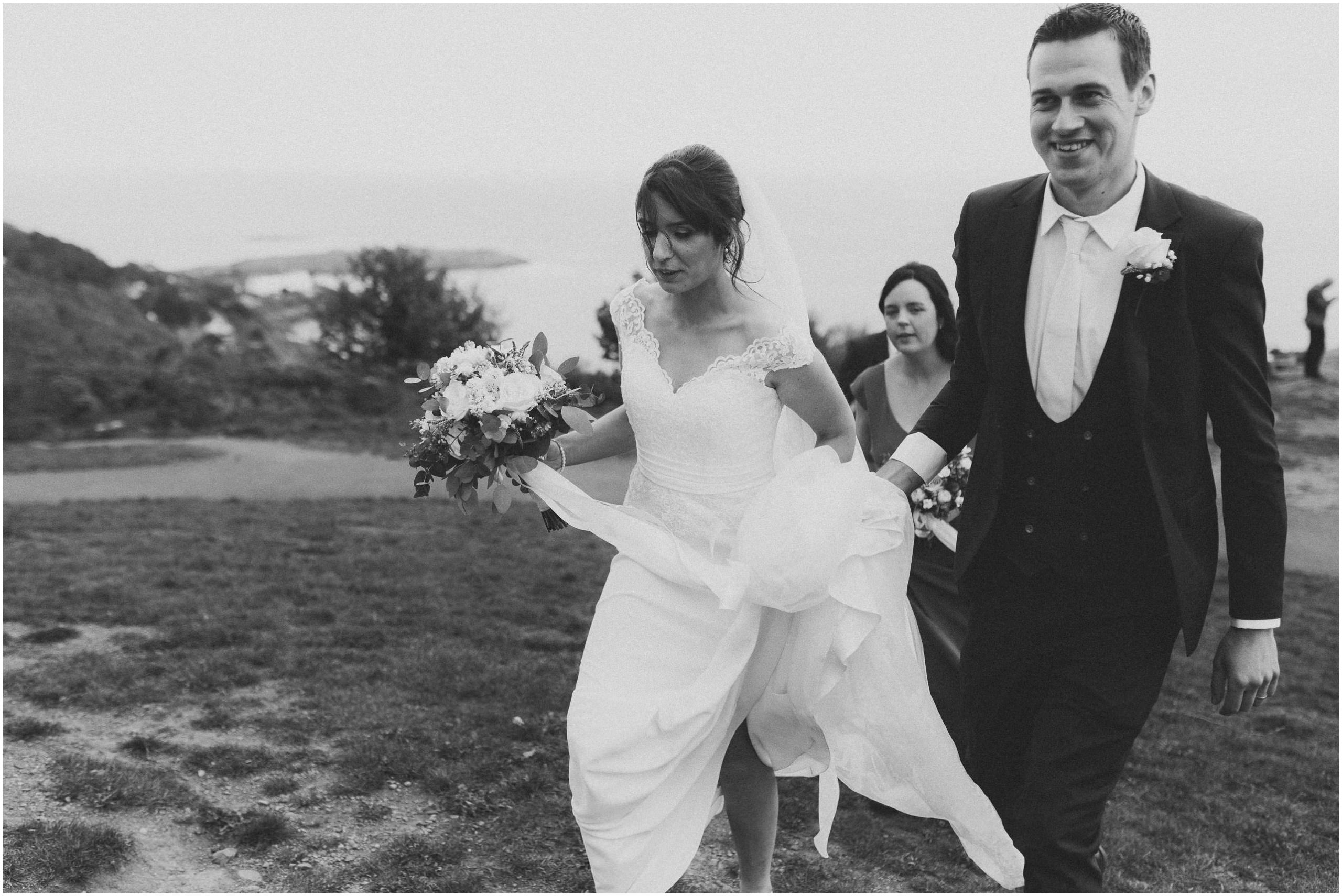 Johnny Corcoran Photography Killiney hill Royal Marine 00105 - Fun and Relaxed wedding and elopement photography in Ireland, perfect for adventurous and outdoorsy couples