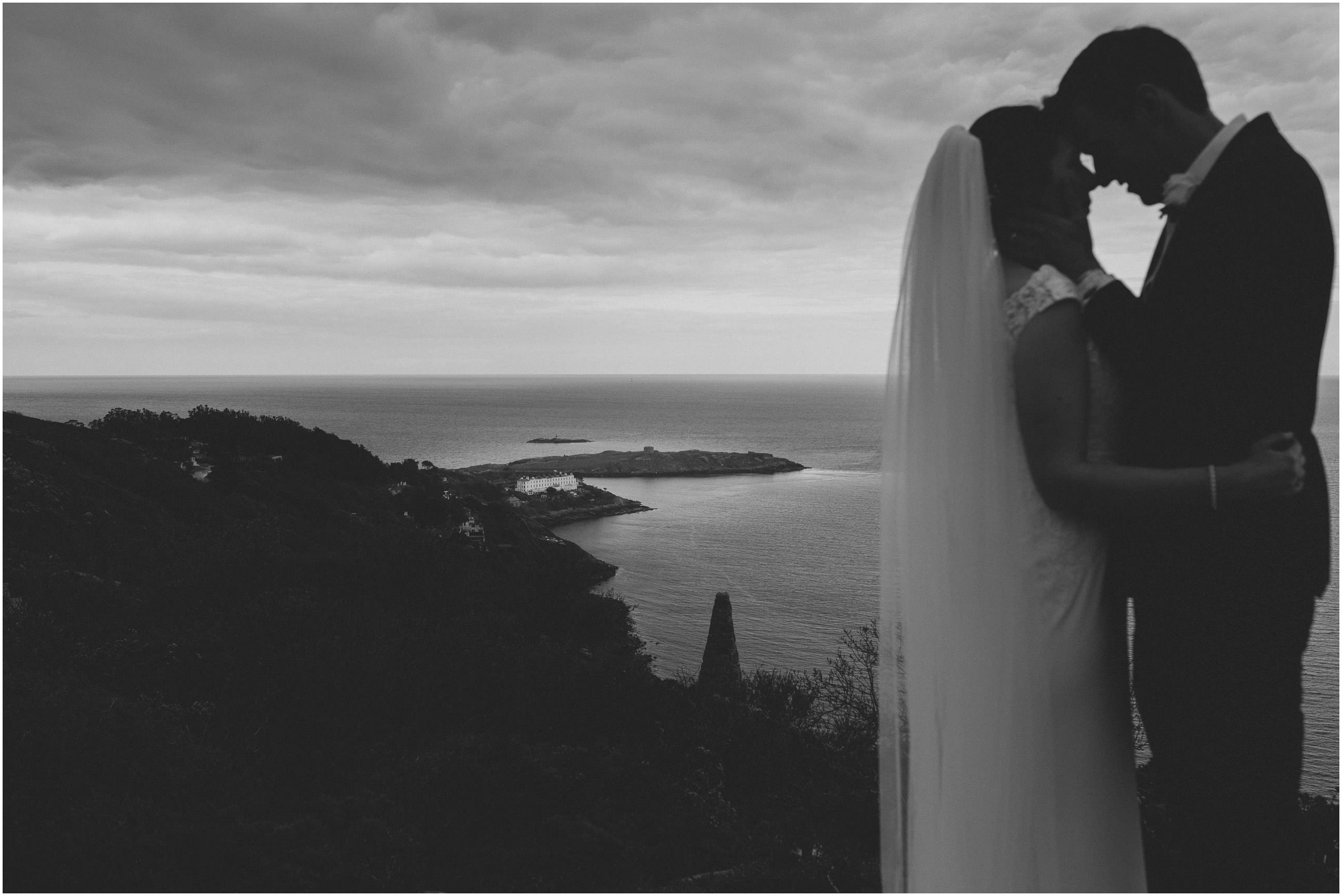 Johnny Corcoran Photography Killiney hill Royal Marine 00123 - Fun and Relaxed wedding and elopement photography in Ireland, perfect for adventurous and outdoorsy couples